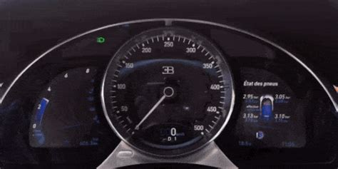 Watch How Quickly the Bugatti Chiron Accelerates to 217 MPH