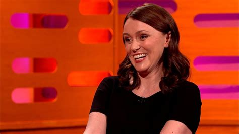 Keeley Hawes' Tomb Raider sound effects - The Graham