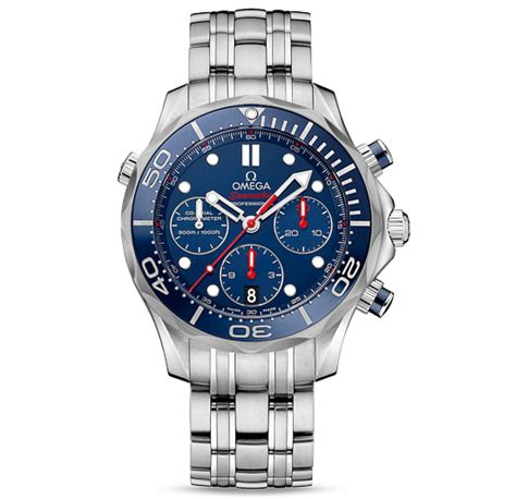 Omega Launched new Seamaster Diver 300M Chronograph Watch