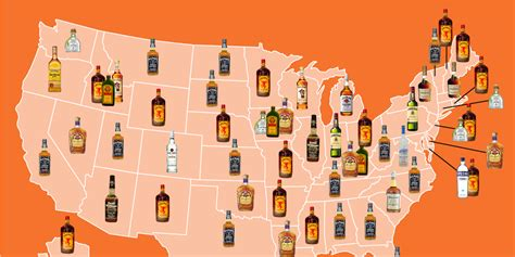 The most popular liquor in every state - Business Insider