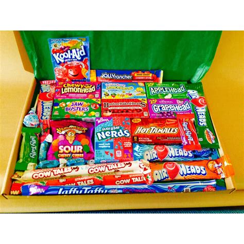 Large American Candy Hamper Gift Box – A Taste of the States
