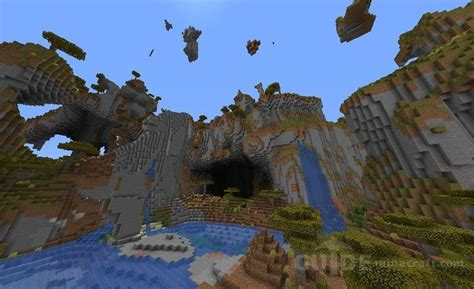 Cool Shattered Savannah seed for Minecraft 1