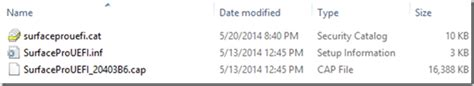 How to Update the Surface Pro 3 Firmware Offline using a