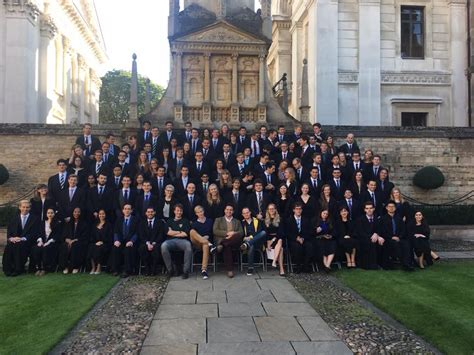 Matriculation of Caius Freshers 2016 | Gonville & Caius