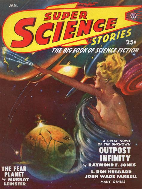 """Super Science Stories – January, 1950 (Featuring """"Beyond"""