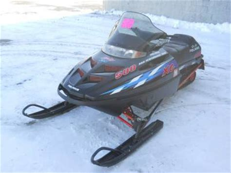 2000 Polaris Indy 500 XC For Sale : Used Snowmobile