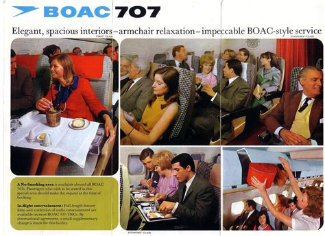 Boac 707   Vintage airlines