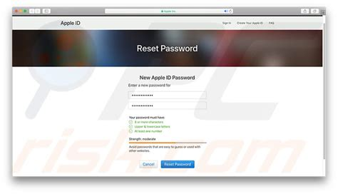 Your Apple ID disabled
