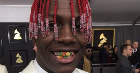 You Have To See Lil Yachty's Incredible Rainbow Grills For