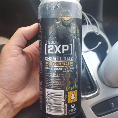 You can buy Halo Infinite Monster Energy, because of