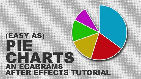 Easy as Pie Charts - Adobe After Effects tutorial - YouTube