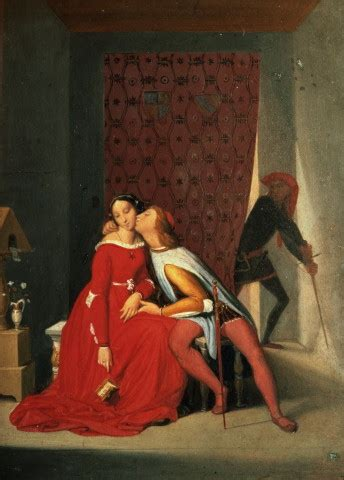 Gianciotto Discovers Paolo and Francesca, by Jean Auguste
