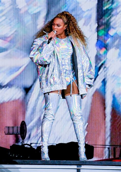 Beyonce Knowles performed live as she opened her 'On The