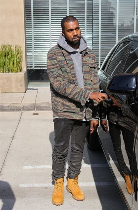 Kanye West in Skinny Leather Jeans - Denimology