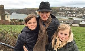 Cold Feet's Hermione Norris enjoys great British family