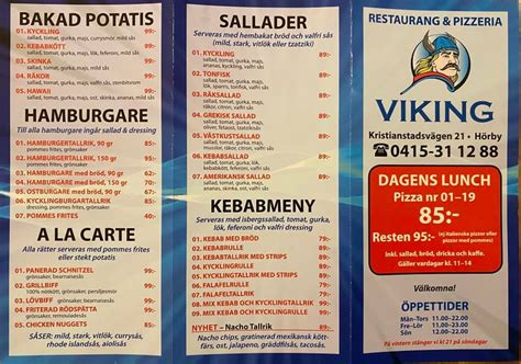 Resturang & Pizzeria Viking - Pizza Place - Hörby - 8