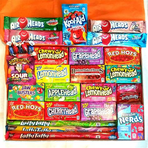 Extra Large American Candy Hamper Gift Box – A Taste of