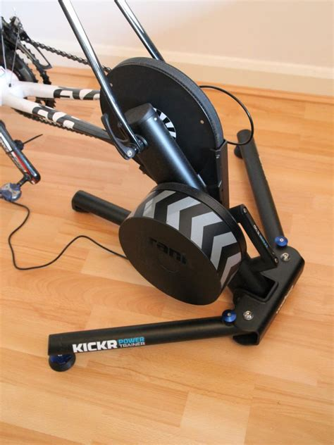 Review: Wahoo Kickr trainer   road