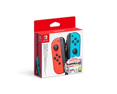 Nintendo Joy-Con Pair Red & Blue + Snipperclips | Dustin