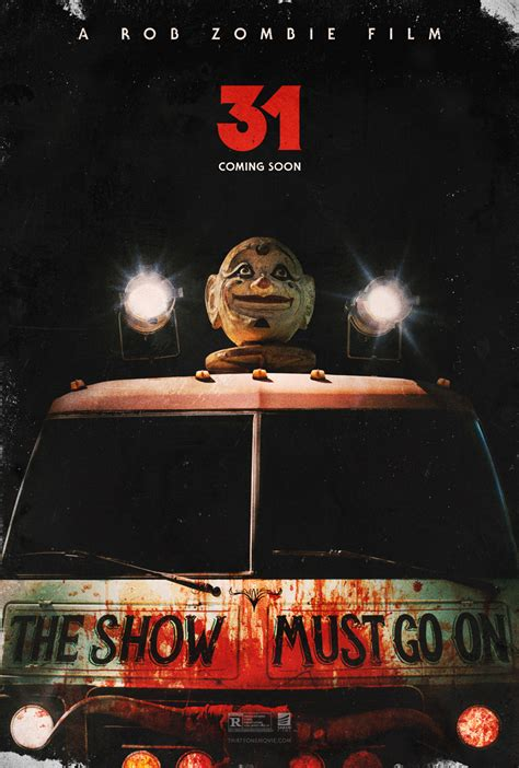 Rob Zombie new movie 31, release date posters   CFY