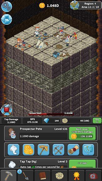 Download Tap Tap Dig - Idle Clicker Game [MOD Unlimited