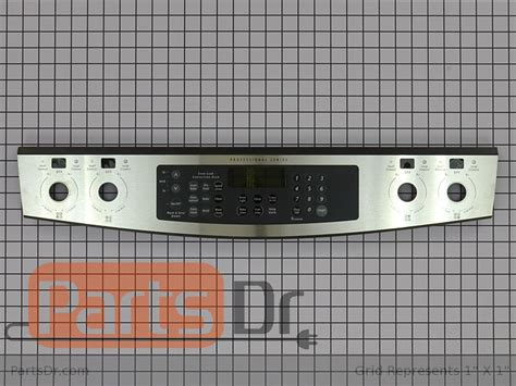 318313830 - Frigidaire Control Panel (Stainless)   Parts Dr