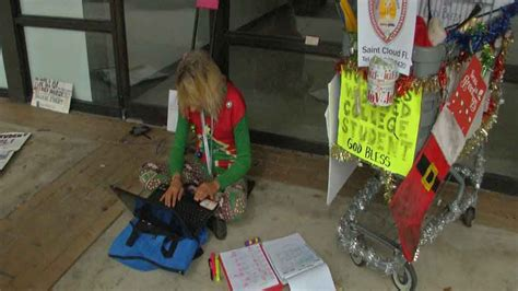 Homeless Kissimmee Woman Wants a Home for the Holidays