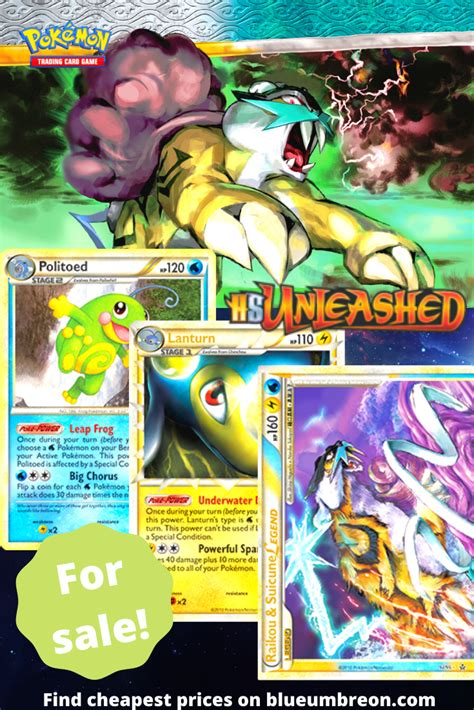 Buy all the rarest HS Unleashed Pokemon cards at best