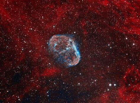 NGC6888 - Crescent Nebula   Astronomy Pictures at Orion