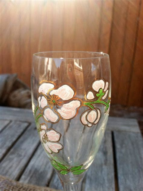 Set of 2 Perrier Jouet Belle Epoque Hand-Painted Champagne