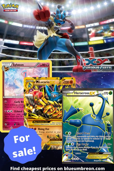 Buy all the rarest XY Furious Fists Pokemon cards at best