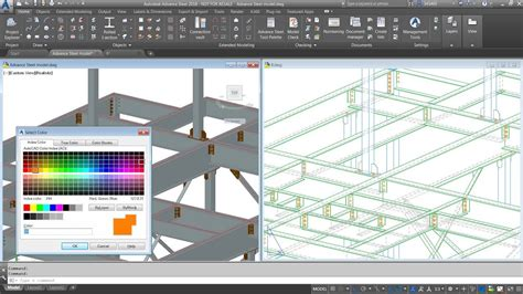 Advance Steel - Using standard AutoCAD colors for objects