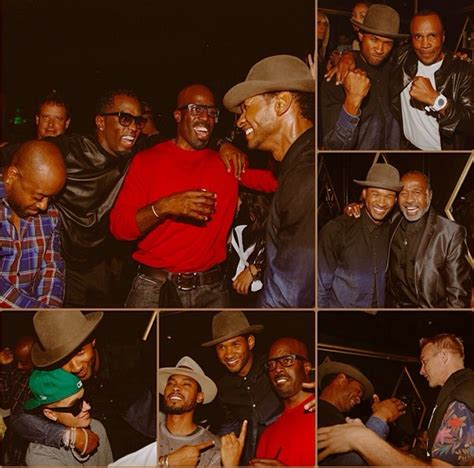 Forever Young! Justin Bieber, Diddy, Sugar Ray Leonard