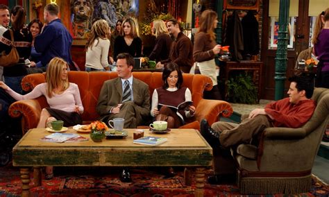 The Central Perk Couch on 'Friends' Was Always Unoccupied