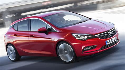 Opel/Vauxhall Astra K unveiled – up to 200 kg lighter