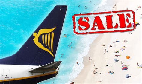 Ryanair launches Bank Holiday SALE with cheap summer