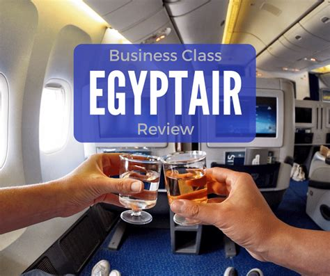 EgyptAir Business Class Review - This Life in Trips