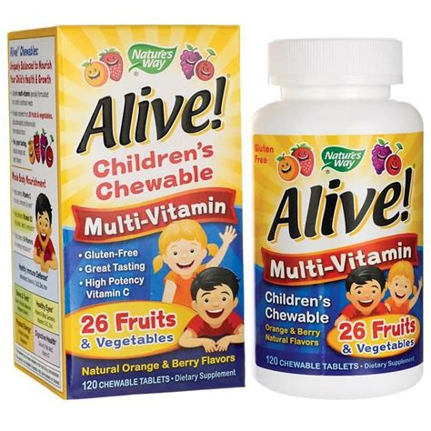 Buy Childrens Chewable Multi from VitaminNet