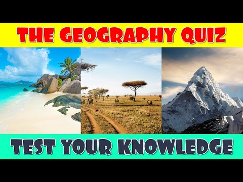 Geography Quiz Questions with Answers | Pub Quiz Questions HQ
