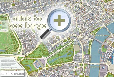 London maps - Top tourist attractions - Free, printable