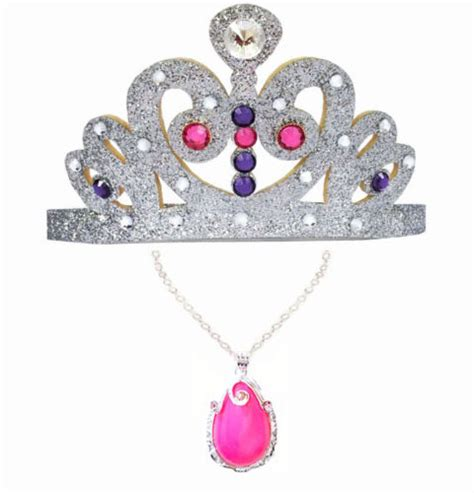 Image - Sofia The First Tiara And Pink Amulet