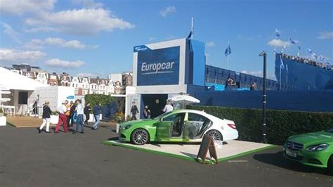 Europcar keeps the world's top tennis stars moving this