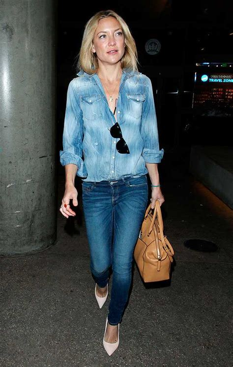 Double denim, blue on blue is back with a vengeance on the