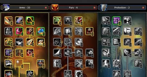 Guide PVP ARMS Warrior Talent Build wow Cataclysm 4