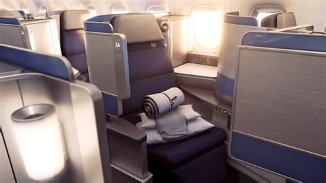 Here Are The Details Of United's New Business Class