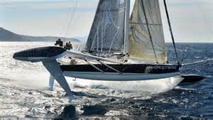 Hydroptere: Super yacht can clock 60 miles an hour   Daily