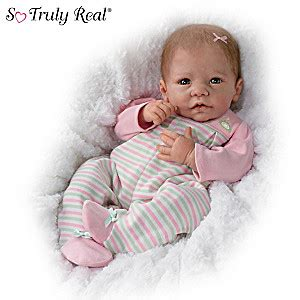 Linda Murray Elizabeth Fully Weighted And Poseable Baby
