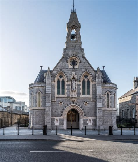 HOLY CROSS CHURCH IN DUNDRUM [HAS CHANGED A LOT SINCE I FI