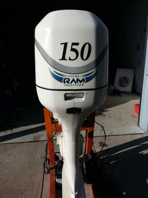 Purchase 1998 Evinrude Ficht Ram 150 hp Fuel Injected 25