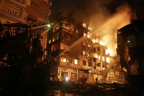 Egypt fires: At least three killed and 90 injured as